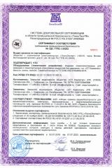 Сертификат соответствия требованиям промышленной безопасности